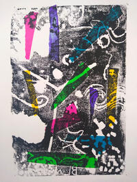 Abstract press print