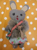 Soft bunny toy made by child