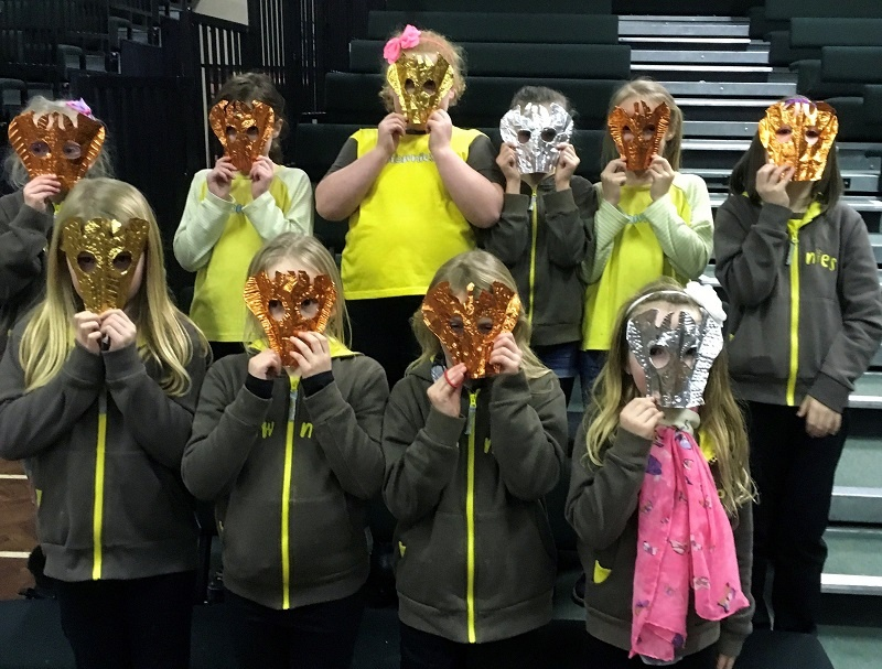 Girlguiding Haltwhistle District Brownies, by Karen MacDougall