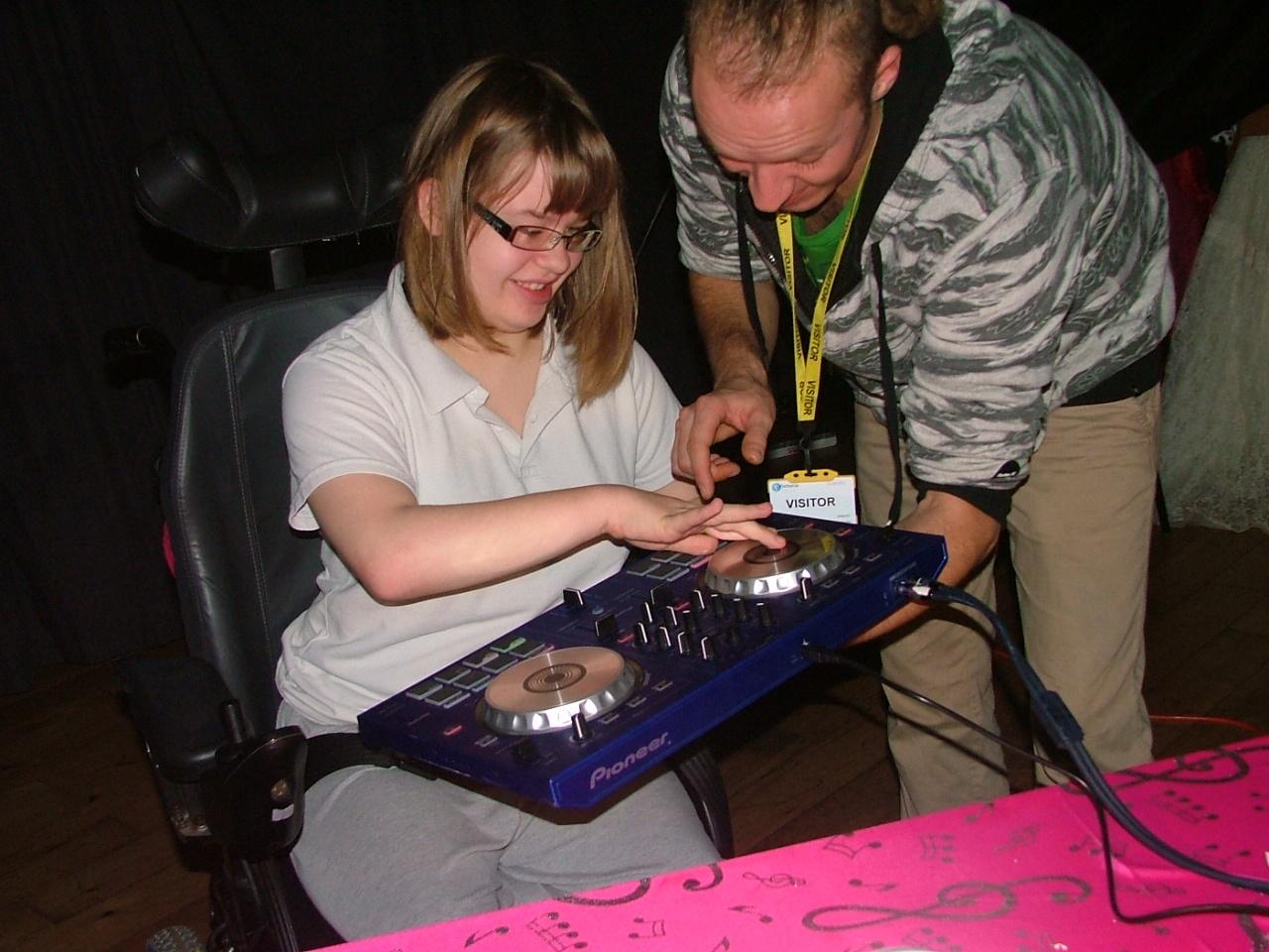 DJ scratching workshop 1 028