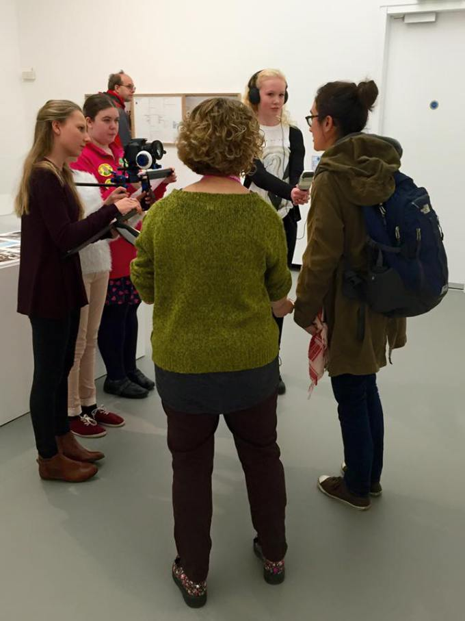 Film Crew - gallery film shoot 1