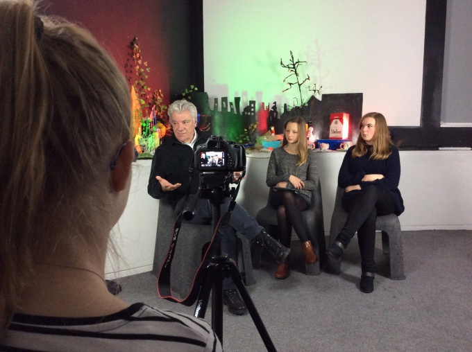 John Napier - Q&A film shoot