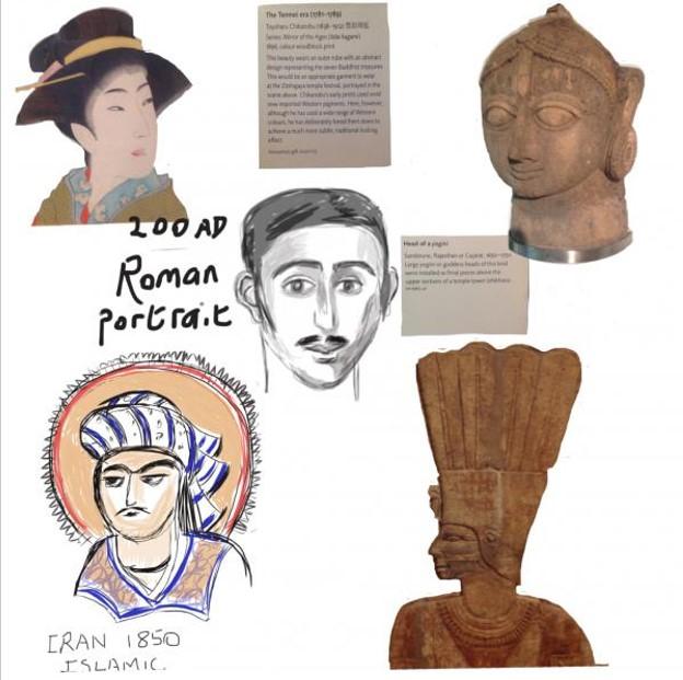 University of Oxford Museums sketchbook