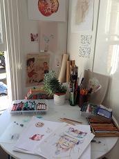 Vic's studio