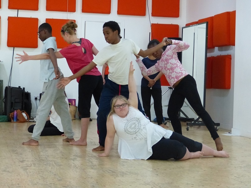 Evidencing Treasures - creative evaluation to support dancers with moderate learning needs