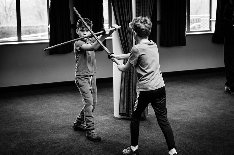 Fighting the good fight: Stage Combat for Young Performers