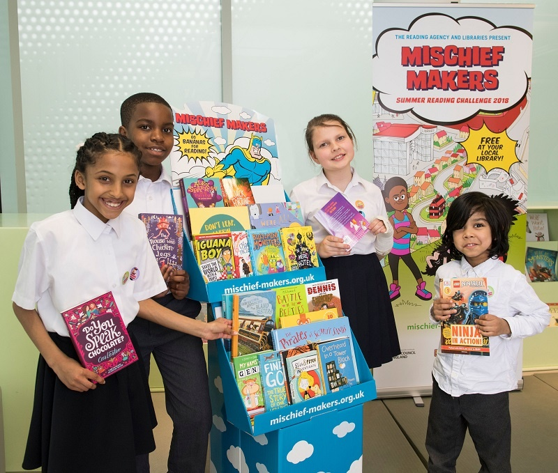 Mischief Makers, Summer Reading Challenge 2018 and Discover Arts Award