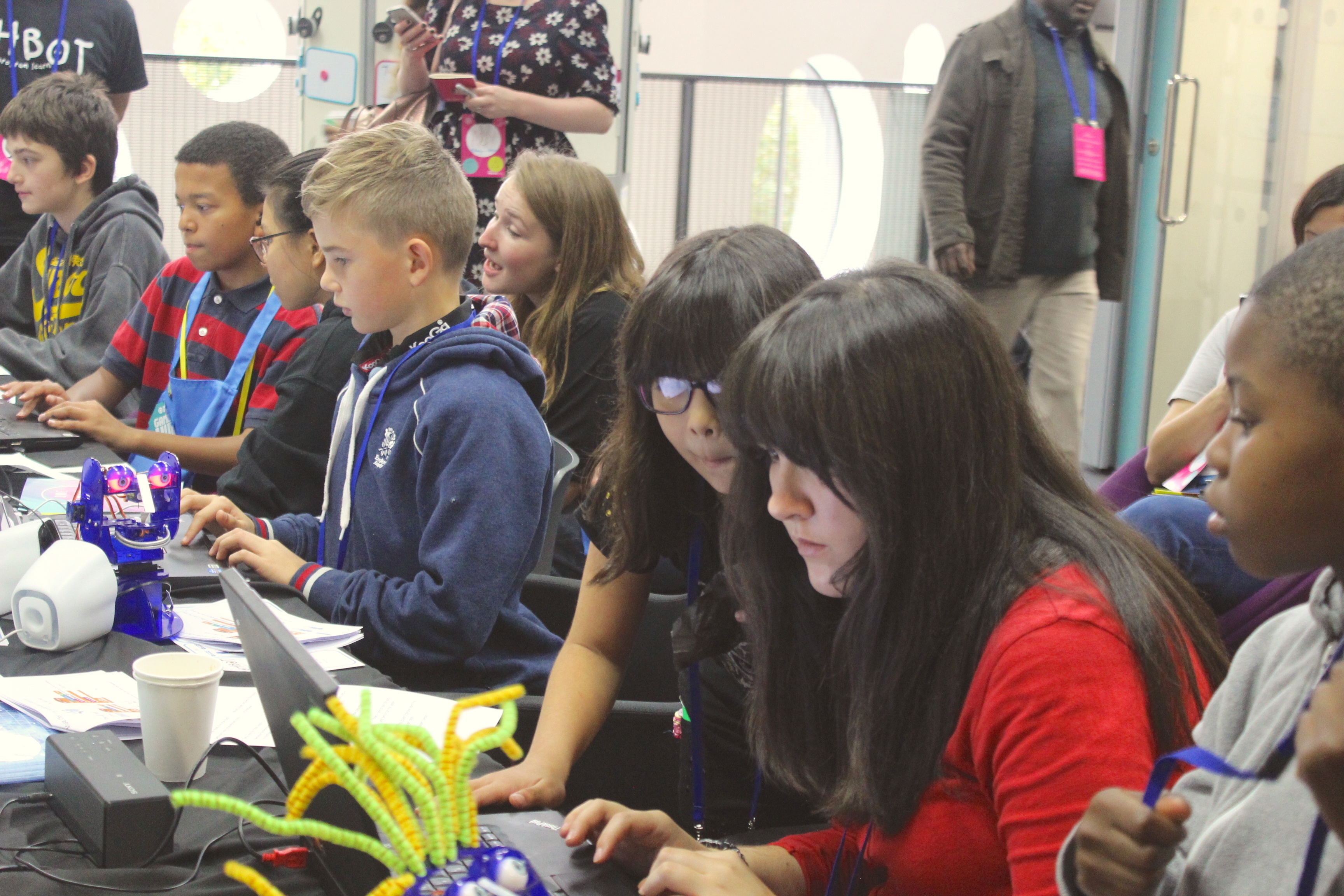 My leadership experience at Mozfest with Helix Arts