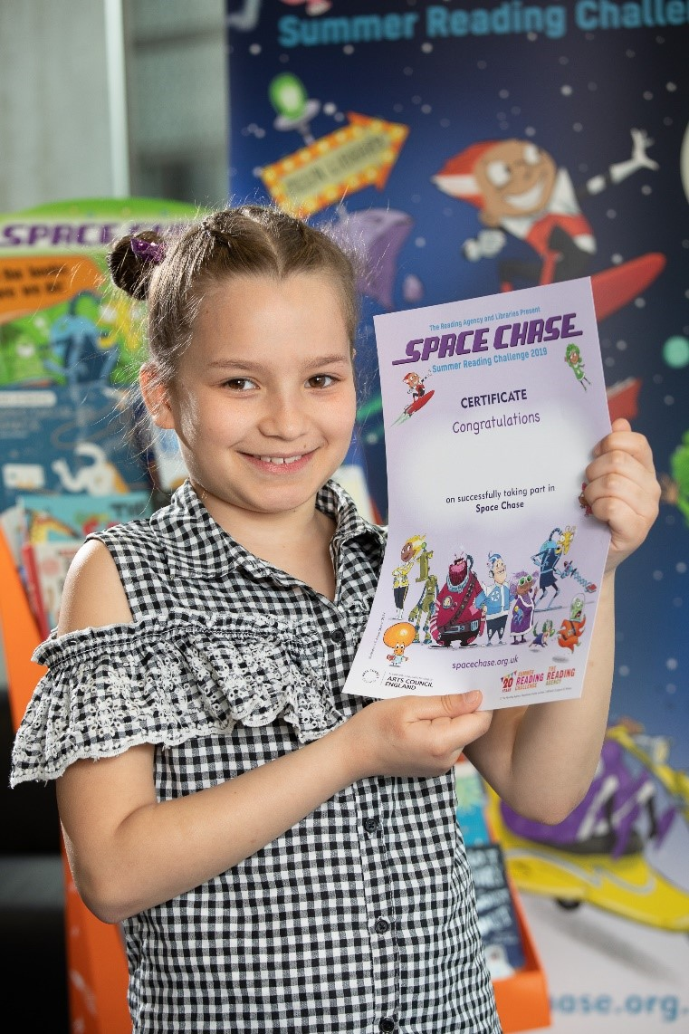 Space Chase, Summer Reading Challenge 2019 and Arts Award Discover