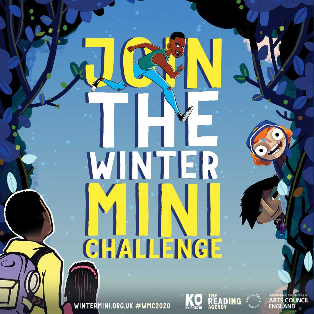 The Reading Agency's Winter Mini Challenge and Arts Award Discover!